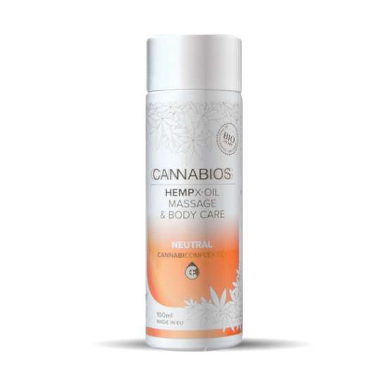 Aceite corporal Cannabios X-Oil Neutral