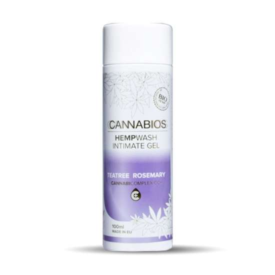 Cannabios Gel Intimo de baño natural